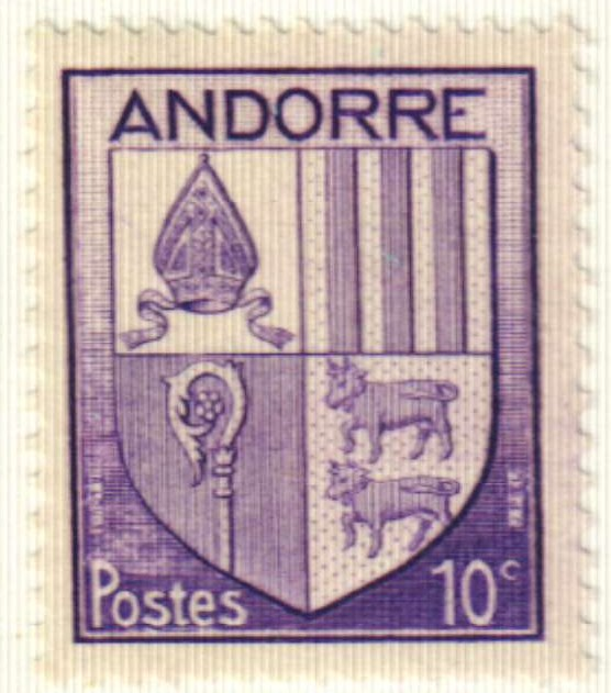 1944 Andorra, French