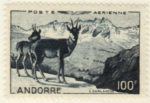 1950 Andorra, French