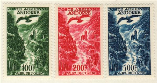 1955-57 Andorra, French