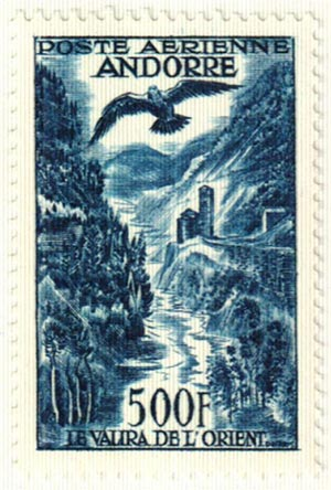 1957 Andorra, French