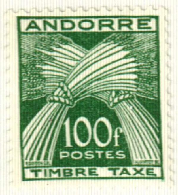 1953 Andorra, French