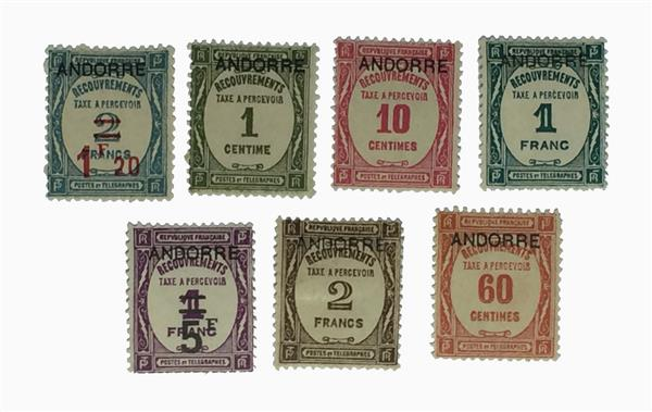 1931-33 Andorra, French