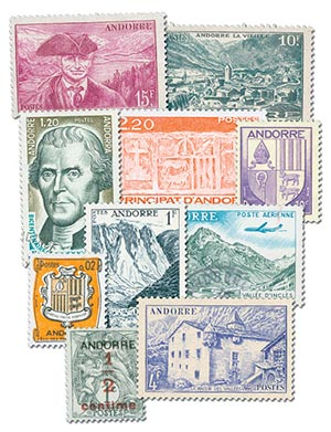 French Andorra, 50v