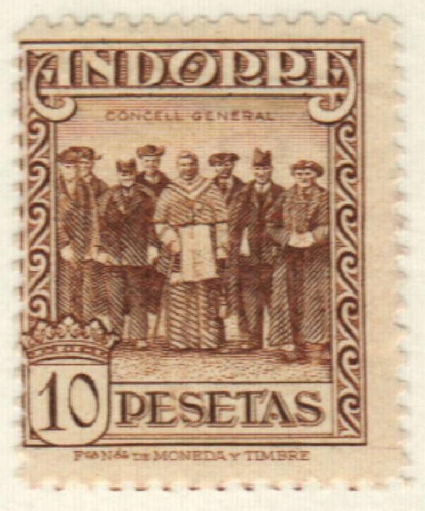 1929 Andorra, Spanish