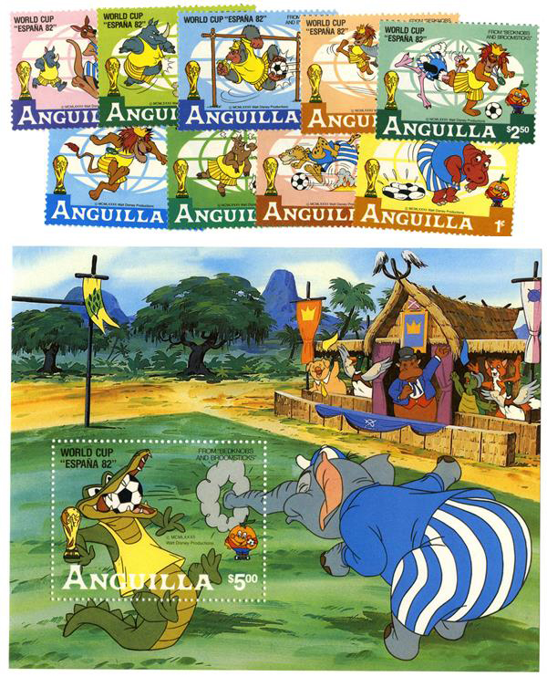 Anguilla 1982 World Cup: Disney Soccer