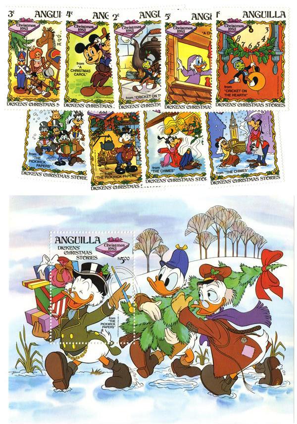 Anguilla 1983 Disney productions