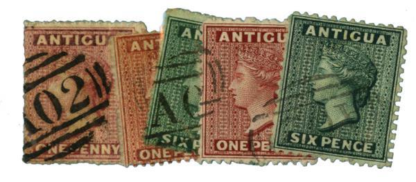 1863-72 Antigua