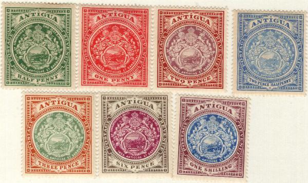 1908-20 Antigua