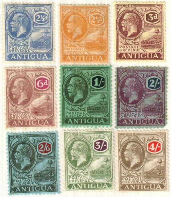 1921-29 Antigua