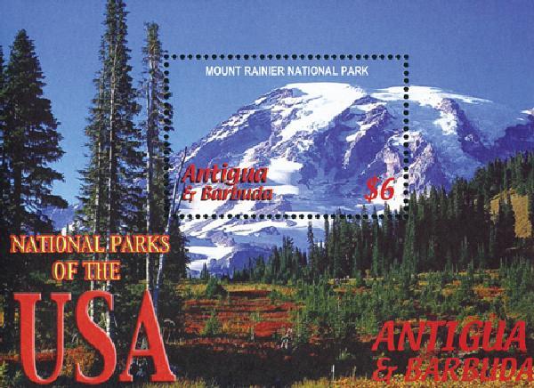 2005 Antigua Mount Rainier National Park