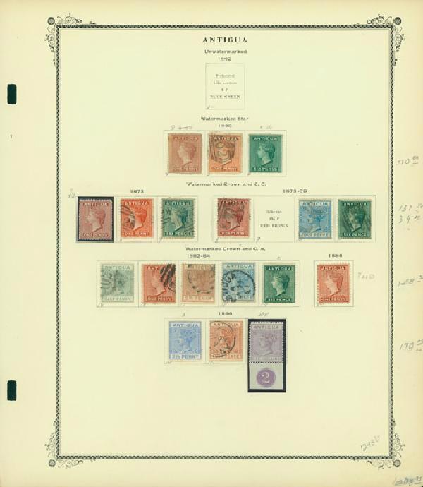 1863-1975 Antigua