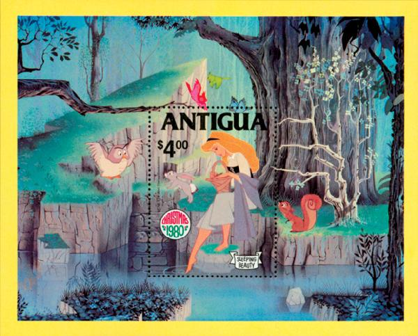 Antigua 1980 Sleeping Beauty S/S