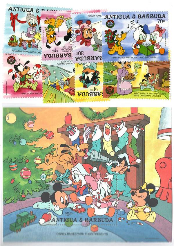 Antigua 1986 Christmas