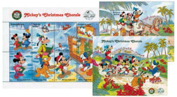 Antigua 1988 Mickeys Christmas Chorale