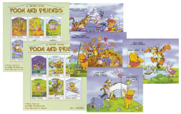 "Antigua 1998 ""Winnie the Pooh"""