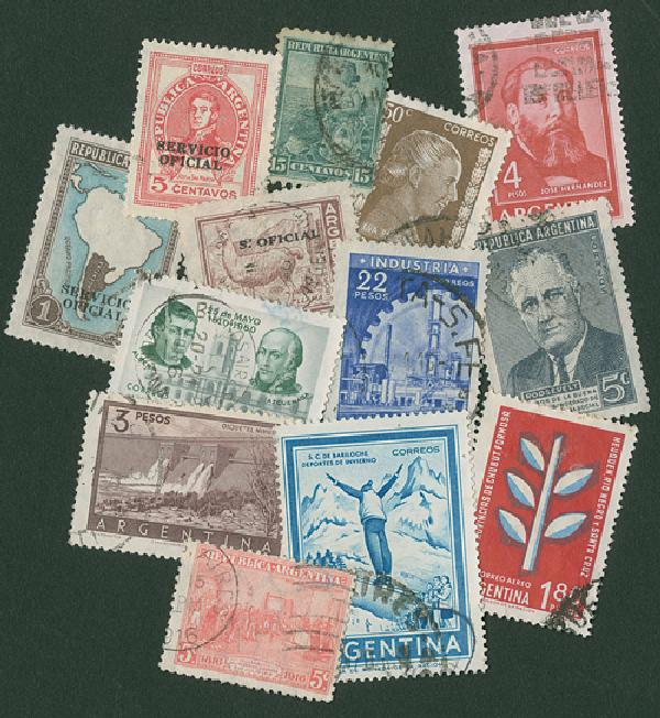 Argentina, 200 stamps