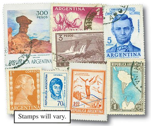 Argentina, 1000v