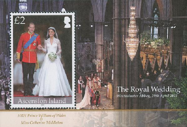 2011 Ascension Will & Kate Wedding s/s
