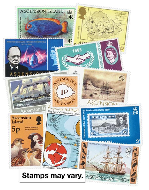 Ascension Island, 300 stamps