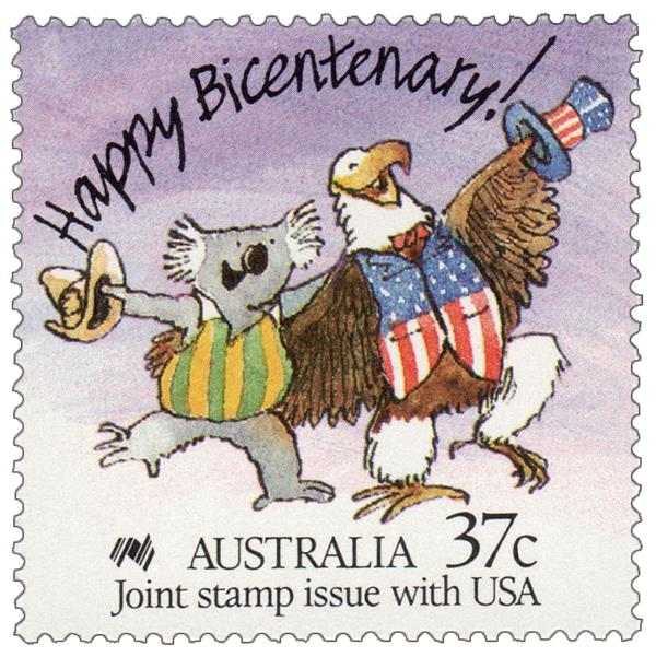 1988 Australia - Australian Koala & American Bald Eagle