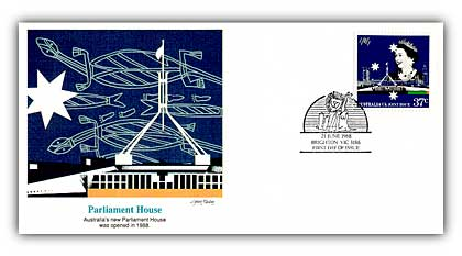 1988 Australia Joint Issue Parliament FDC