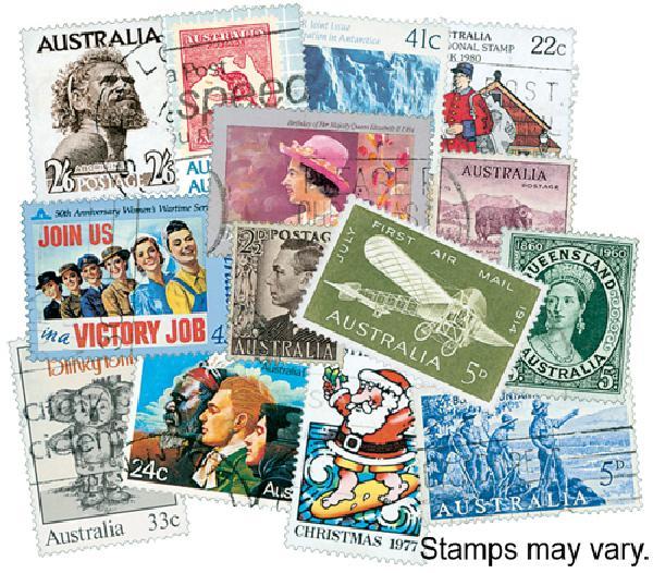 Australia 600 stamps used