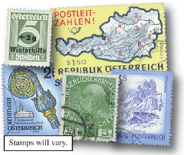 Austria, 300 stamps