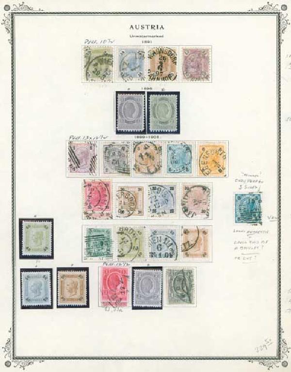 1891-1984 Austria