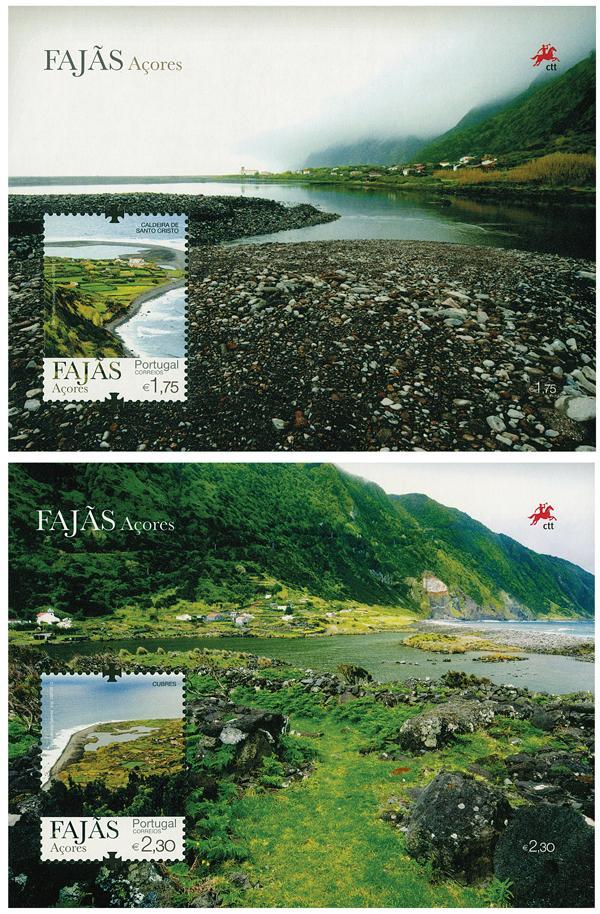 2012 Azores Fajas-Scenes 2 mint s/s