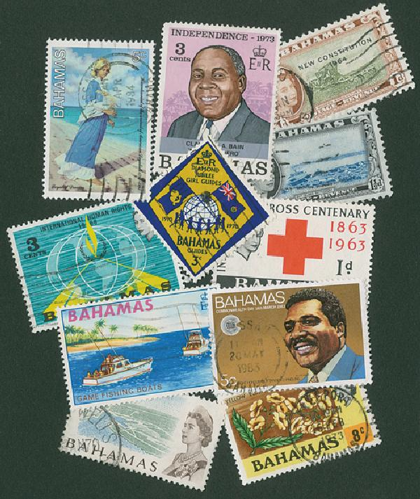 Bahamas, 25 stamps