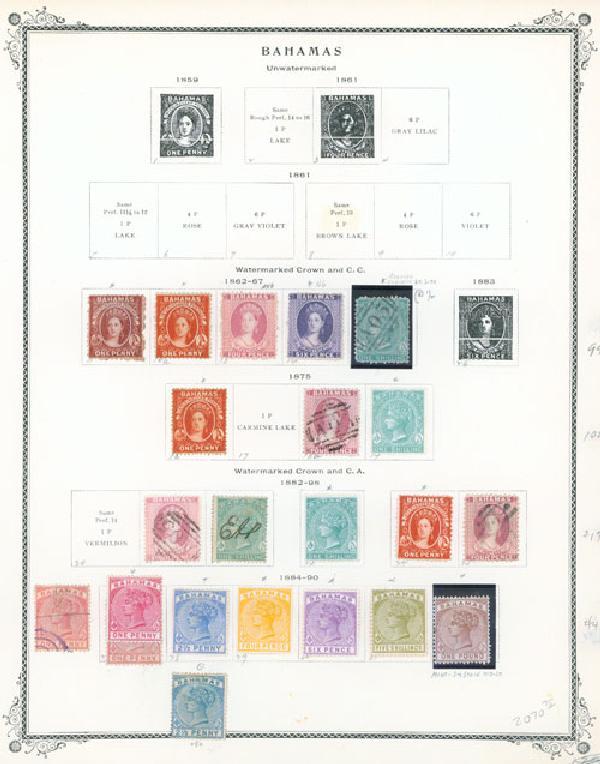 1862-90 Bahamas