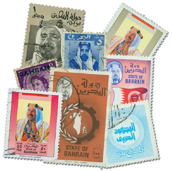 Bahrain, 25 stamps