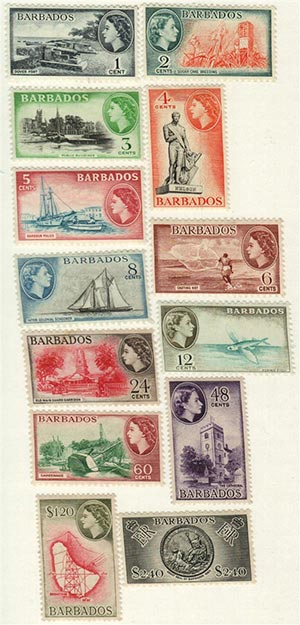 1953-57 Barbados