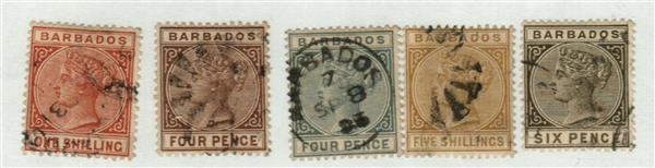 1882-85 Barbados