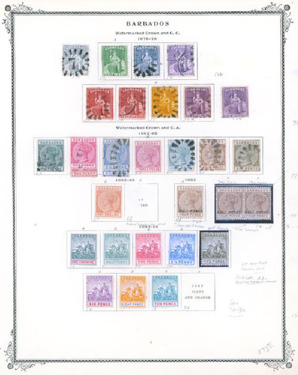 1871-1987 Barbados