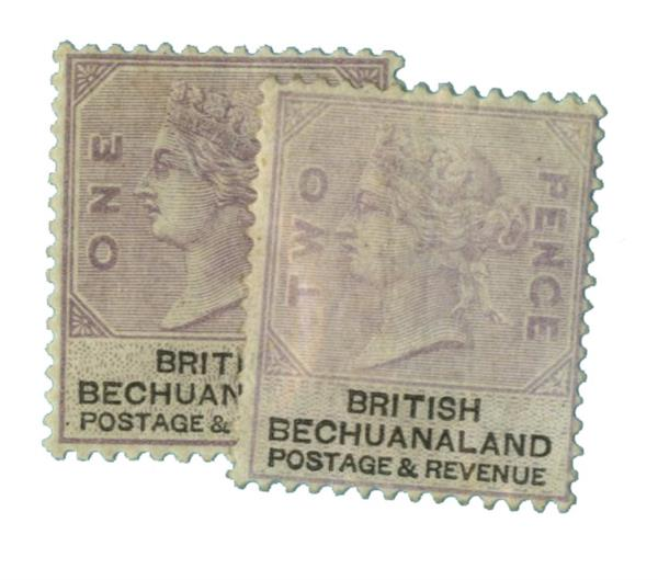1887 Bechuanaland