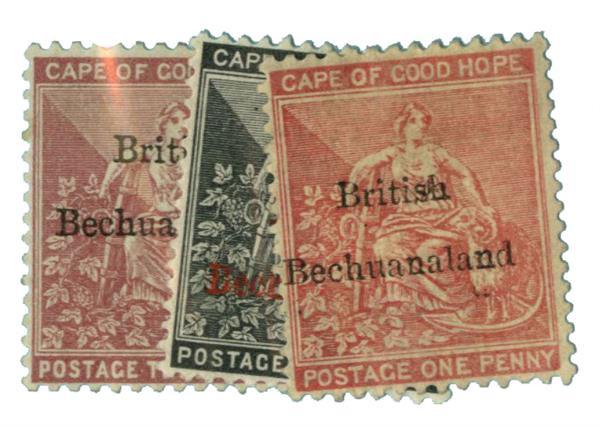 1885-87 Bechuanaland