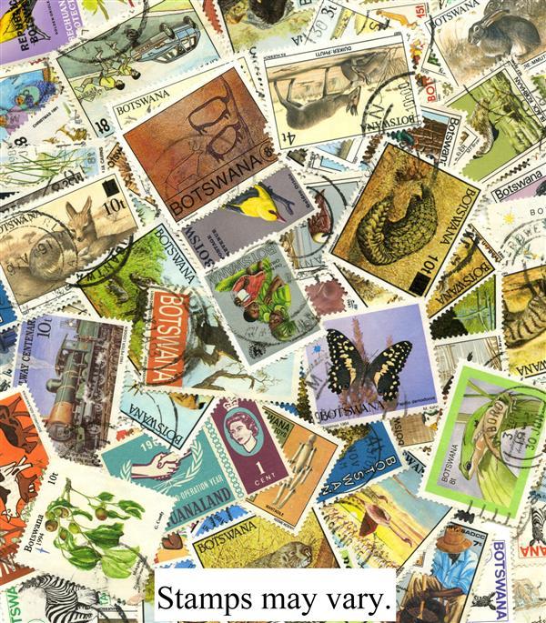 Bechuanaland & Botswana, 150 stamps