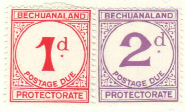 1932 Bechuanaland Protectorate