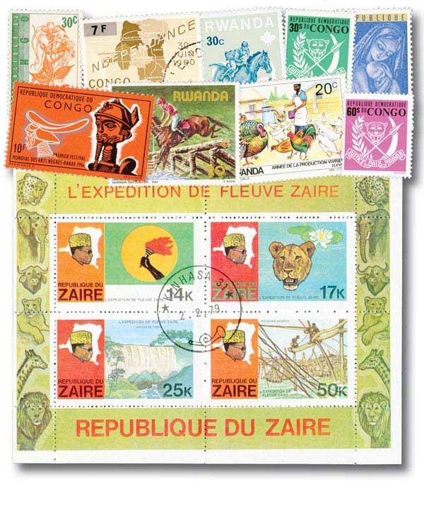 Belgian Colonies, 100v
