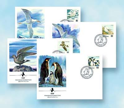 1990 New Zealand Birds IAF Set (4)