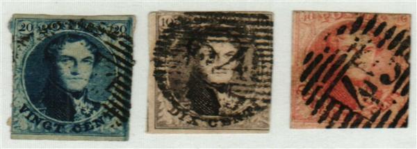 1851-54 Belgium