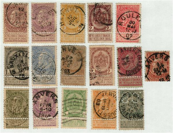 1893-1900 Belgium