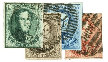 1858-61 Belgium