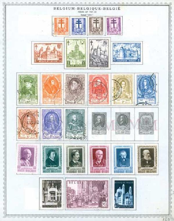 1951-53 Belgium 13