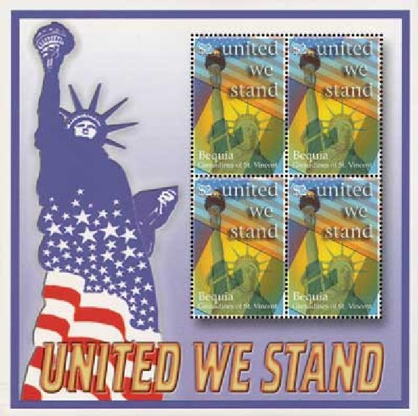 2002 Bequia #306 4v Mint