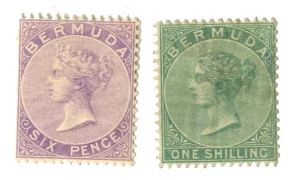 1865-74 Bermuda