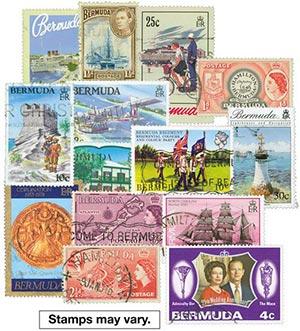 Bermuda, 125 stamps