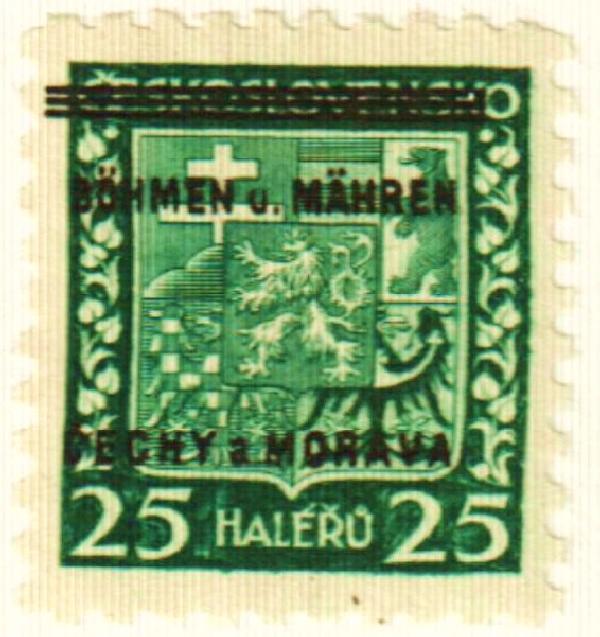 1939 Bohemia & Moravia
