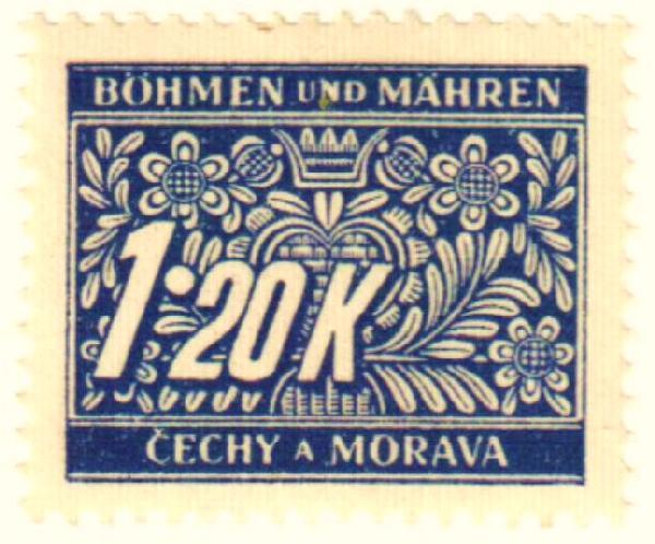 1940 Bohemia & Moravia